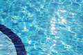 Sparkling clear blue water in swimming pool - PhotoDune Item for Sale