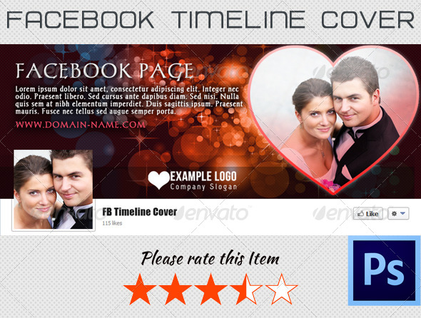 GraphicRiver Love FB Timeline Cover 4133713