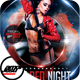Hot Red Night Flyer Template - GraphicRiver Item for Sale