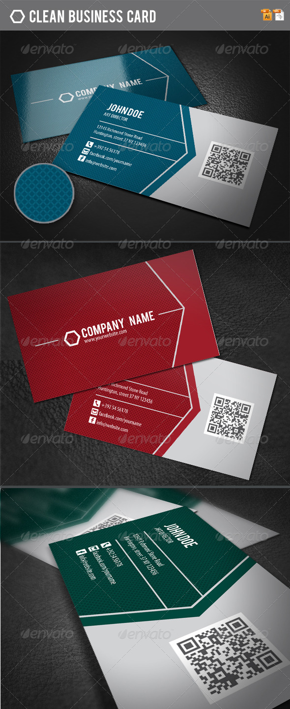 GraphicRiver Clean Business Card 4149259