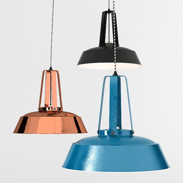 3DOcean Workshop Lamp 4311339