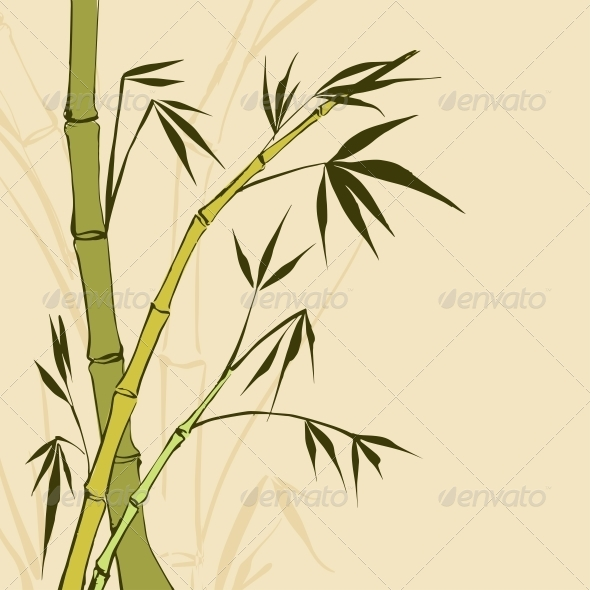 GraphicRiver Bamboo Painting 4311729