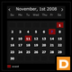 XML Event Calendar - ActiveDen Item for Sale