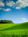 Curving Hill under Blue Sky - PhotoDune Item for Sale