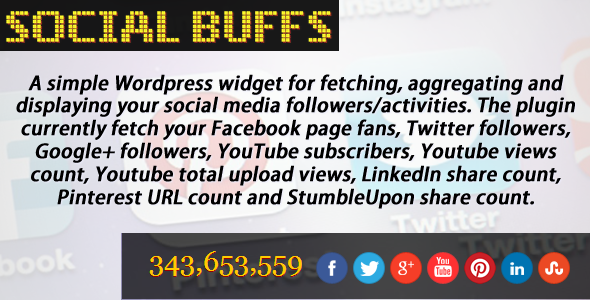 CodeCanyon Social Buffs for WordPress 4298394