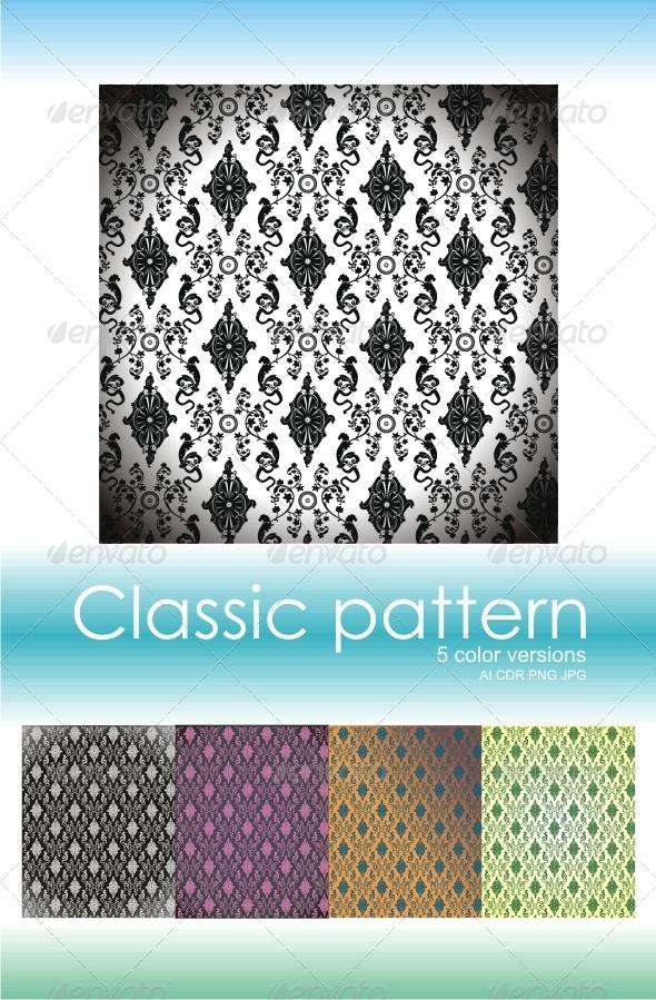 GraphicRiver Classic Pattern 1 4215854