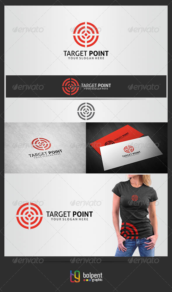 GraphicRiver Traget Point Logo Template 4204062