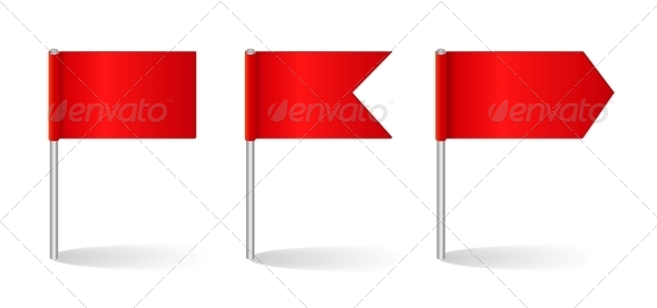 GraphicRiver Vector Illustration of Flags Set 4316962