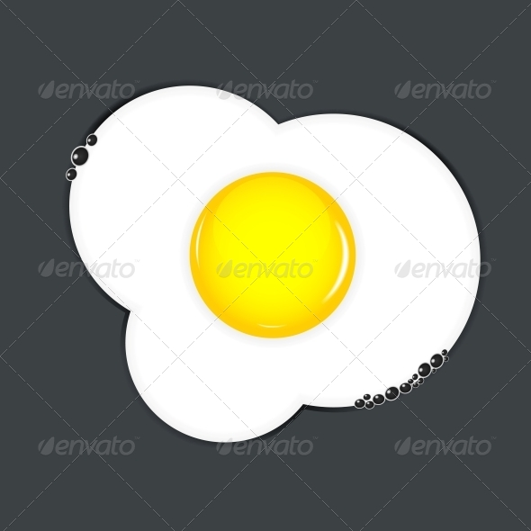 GraphicRiver Fried Eggs Vector Illustration 4317110