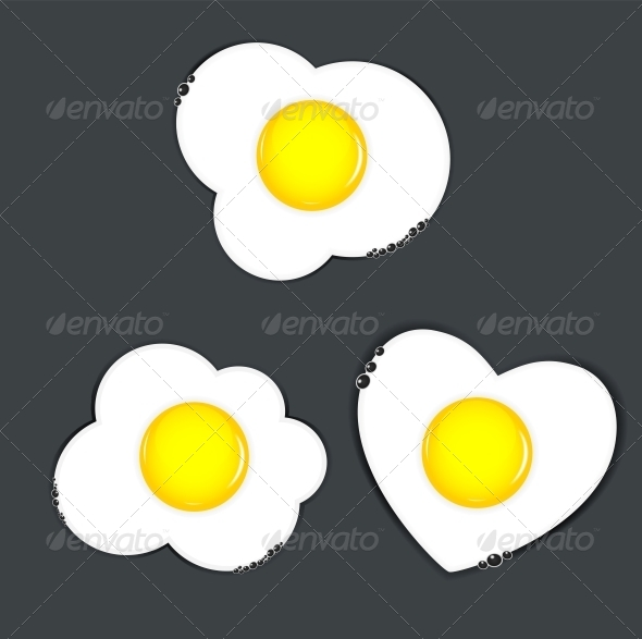GraphicRiver Fried Eggs Vector Illustration 4317111