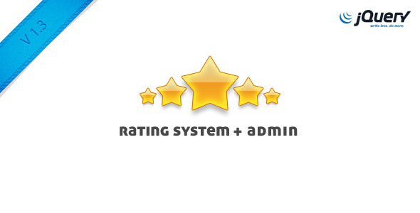 Skinnable Rating System + Admin Area - CodeCanyon Item for Sale
