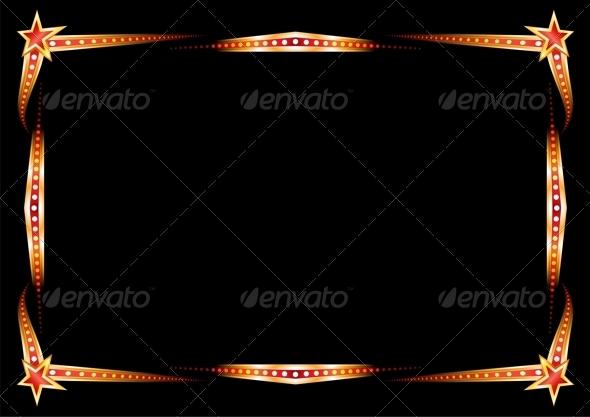 GraphicRiver Neon Frame 4319093