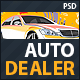 Auto Dealer - Car Dealer PSD Template - ThemeForest Item for Sale