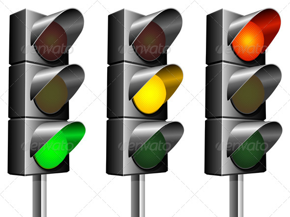GraphicRiver Traffic Lights 4320157