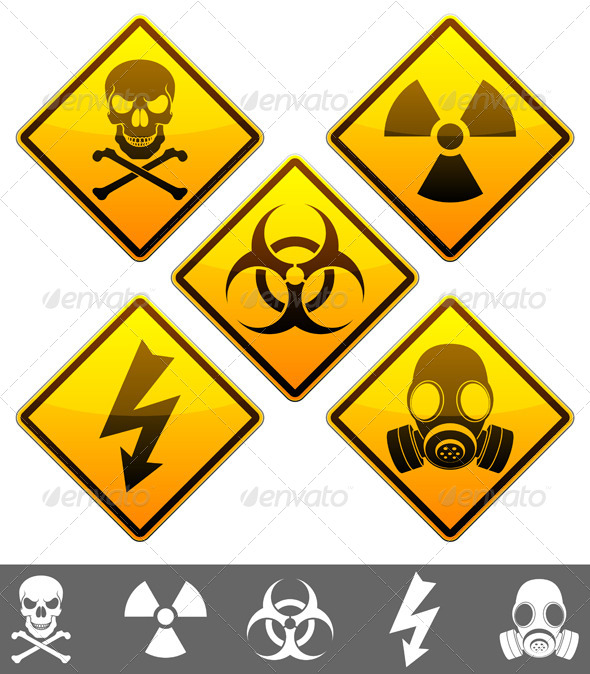 GraphicRiver Warning Signs 4320185