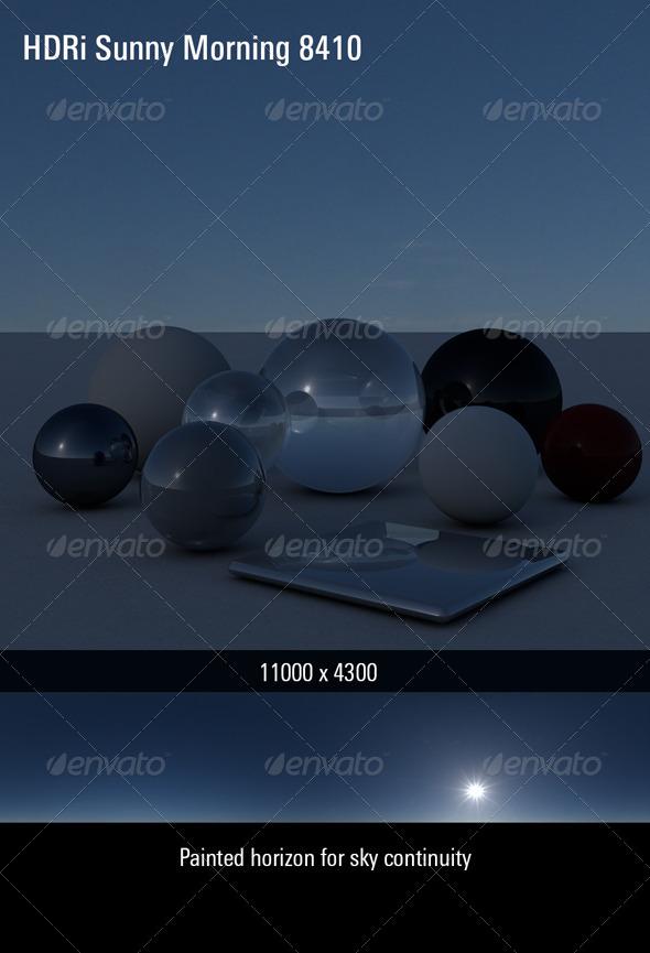 3DOcean HDRi Sky Sunny Morning 8410 4320315