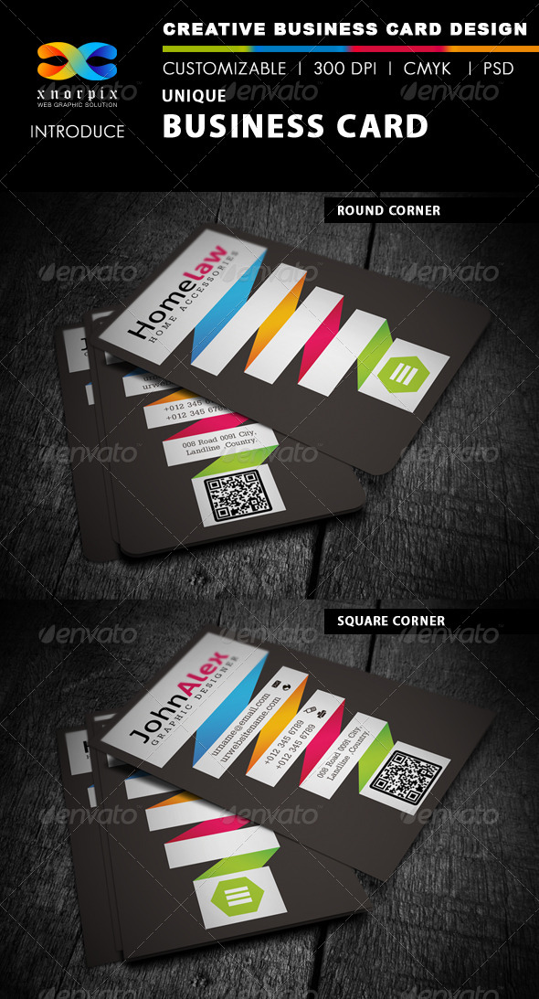 GraphicRiver Corporate Business Card 4176559