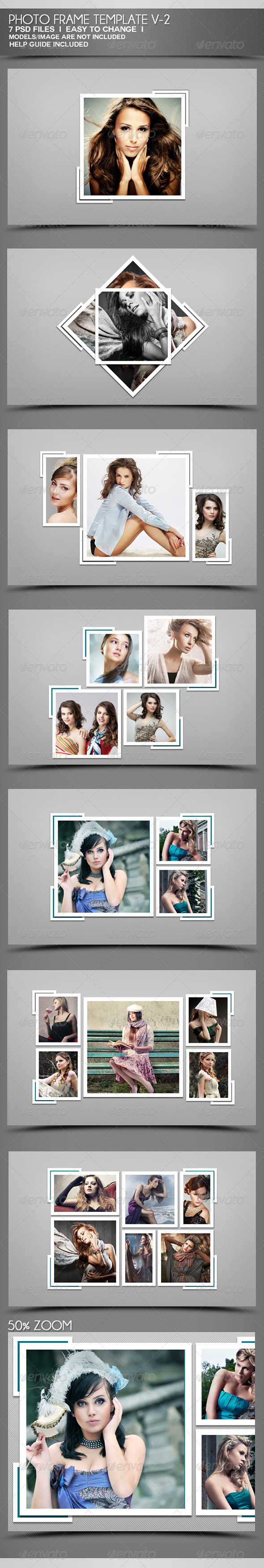 GraphicRiver Photo Frame Templates V-2 4321401