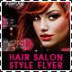 Hair Salon Fashion Style Business Flyer - GraphicRiver Item for Sale