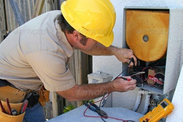 PhotoDune Air Conditioning Repairman 2 465441