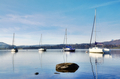 View of Lake Windermere with four boats - PhotoDune Item for Sale