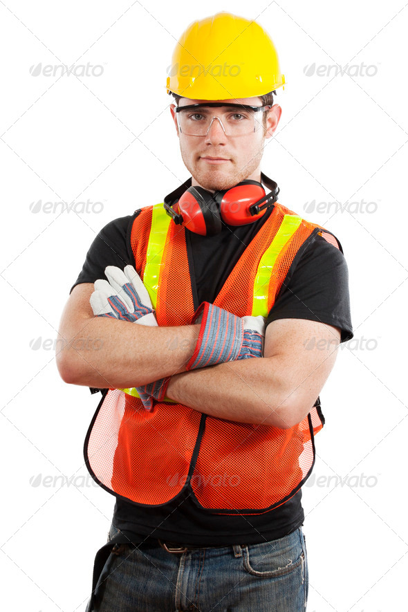 PhotoDune Construction worker 465708
