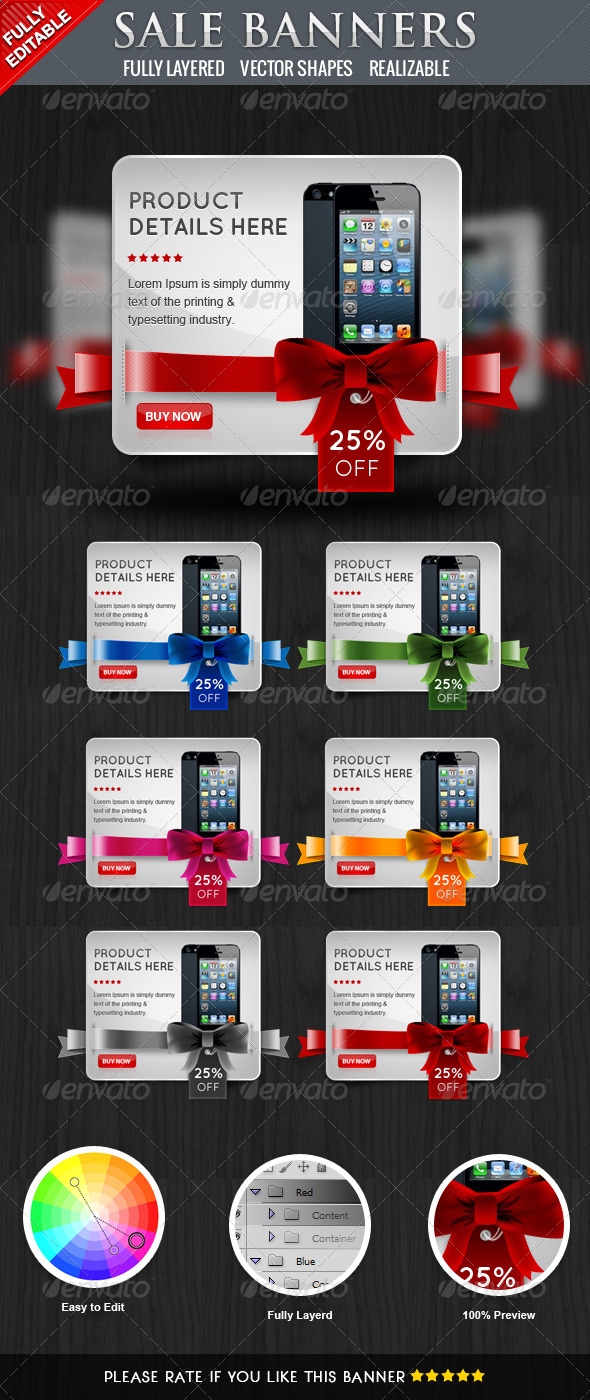 GraphicRiver Coupon Banners II 4325863