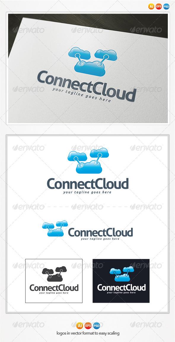 GraphicRiver Connect Cloud Logo 4328029