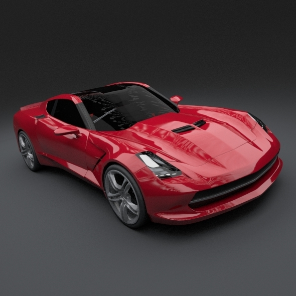 Chevy Stingray 2013 redesign - 3DOcean Item for Sale