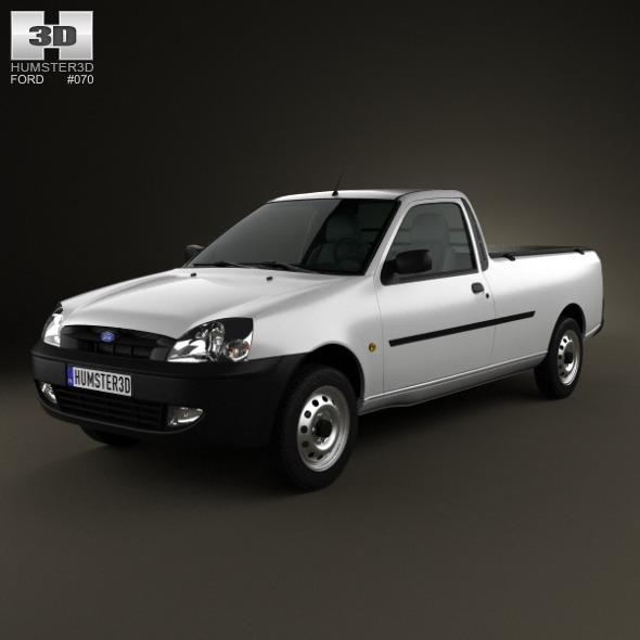 3DOcean Ford Courier 2011 4329379