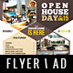 Real Estate - Open House Flyer / Magazine AD - GraphicRiver Item for Sale