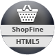 ShopFine: Premium Bootstrap eCommerce Template - ThemeForest Item for Sale