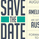 Wedding Invitation and Save The Date - GraphicRiver Item for Sale