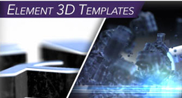 Element 3D After Effects Templates
