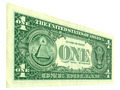 One dollar bill at an angle - PhotoDune Item for Sale