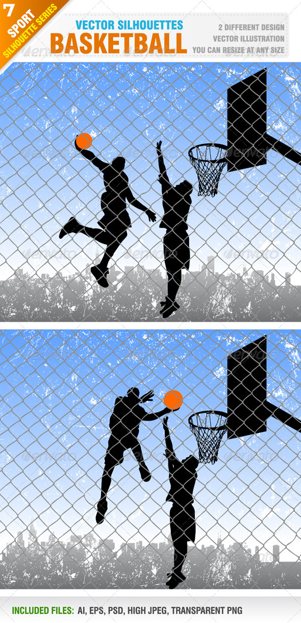 GraphicRiver Basketball 4331983