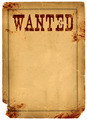Blood Stained Wanted Poster 1800s Wild West - PhotoDune Item for Sale