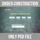 SomeTheme - Under Construction Page - GraphicRiver Item for Sale