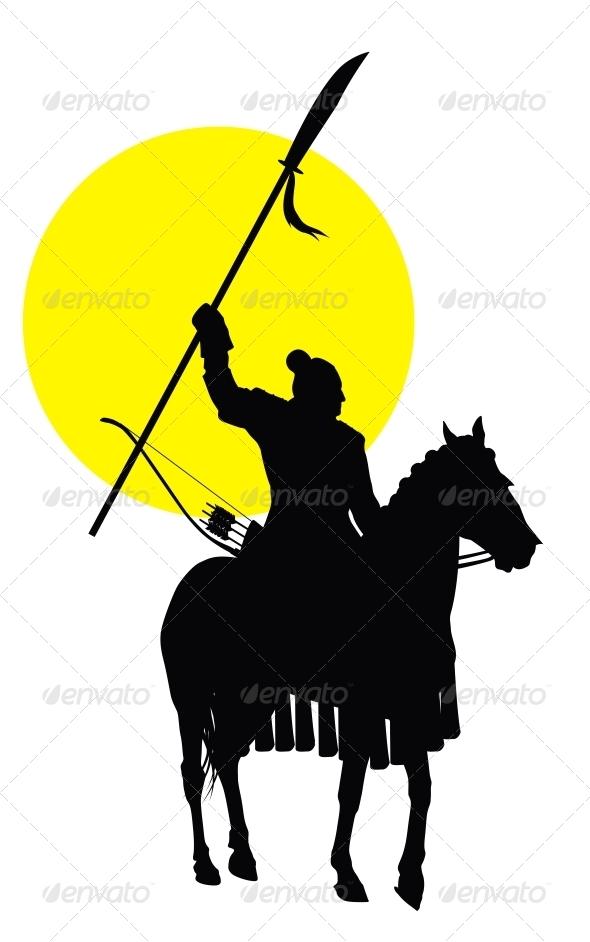 GraphicRiver Chinese Horseman 4336078