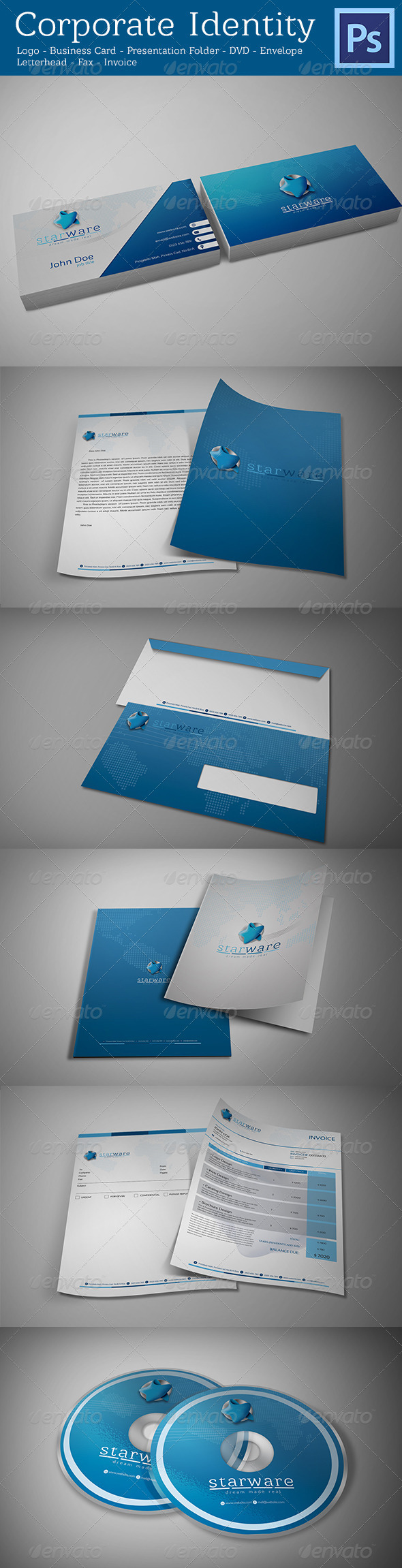 GraphicRiver Corporate Identity 4200333