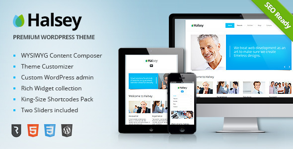 ThemeForest Halsey Ultimate Business WordPress Theme 4284555