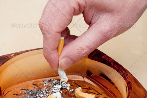 Stock Photo - PhotoDune Cigarette Stubbing Out 470695