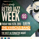 Retro Jazz Week Flyer Template - GraphicRiver Item for Sale