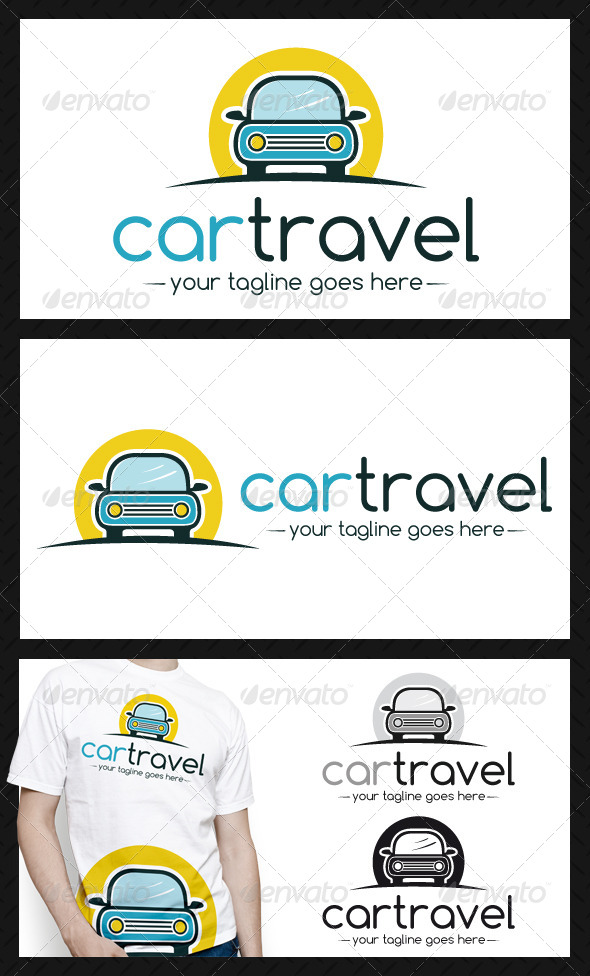 GraphicRiver Car Logo Template 4339880