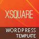 xSquare - Responsive &amp;amp; Clean Wordpress Template - ThemeForest Item for Sale