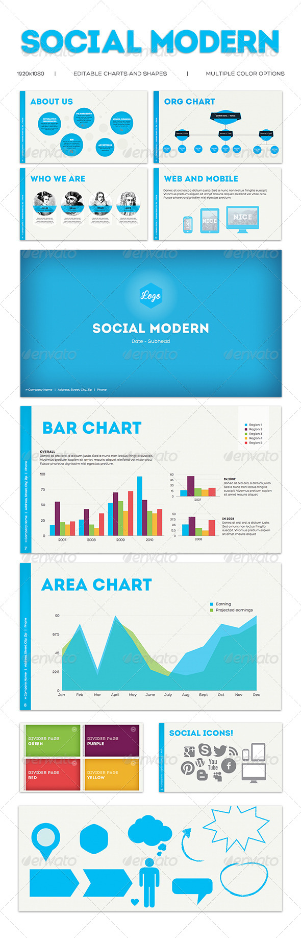 GraphicRiver Social Modern 4098575