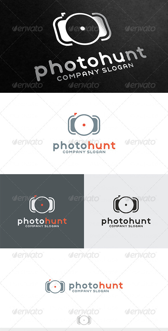 Photo Hunt Logo - Symbols Logo Templates