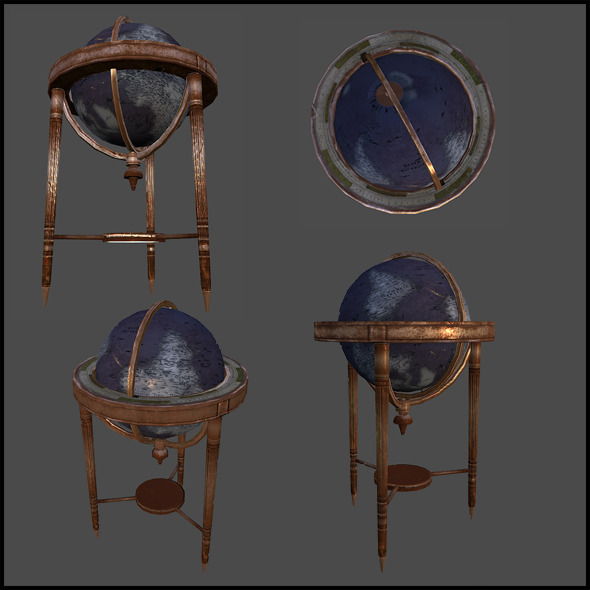 3DOcean Office Globe 4341392