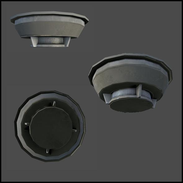 3DOcean Smoke Alarm 4341454