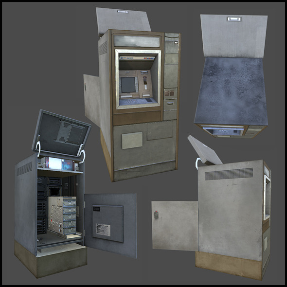 3DOcean Cashpoint Machine 4342078